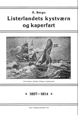 Bilde av Listerlandets Kystværn Og Kaperfart