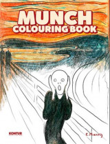 Omslag - Munch colouring book