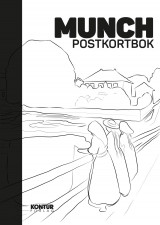 Omslag - Munch postcard book. 16 postkort