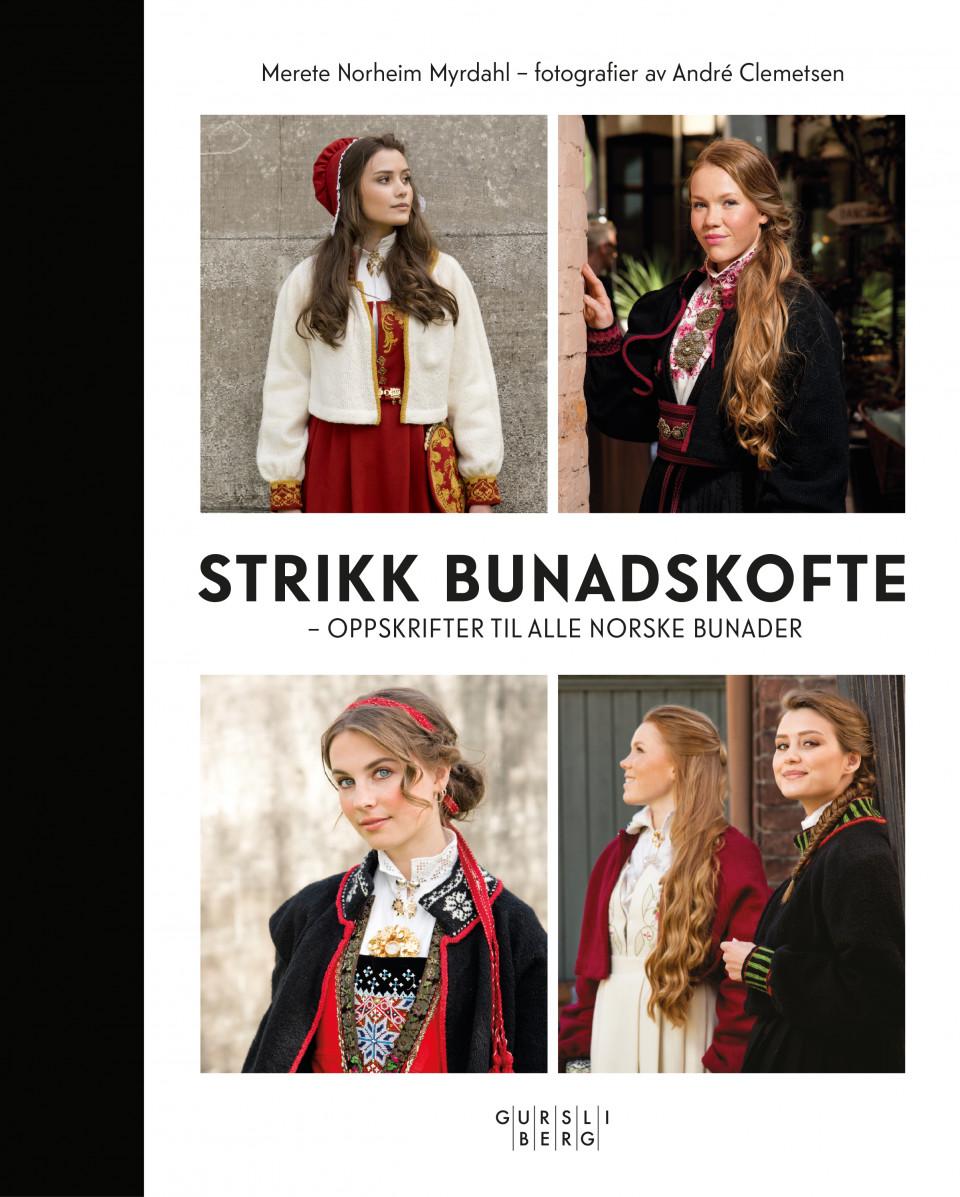 950ad610 Strikk bunadskofte av Merete Norheim Myrdahl (Innbundet ...