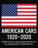 Omslag - American cars 1920-2020