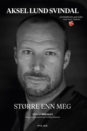Bilde av bokomslaget til 'Større enn meg'