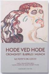 Omslag - Hode ved hode = Head by head : Cronqvist, Bjørlo, Munch : art and life