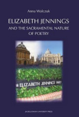 Omslag - Elizabeth Jennings and the Sacramental Nature of Poetry