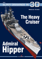 Omslag - The Heavy Cruiser Admiral Hipper