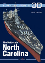 The Battleship USS North Carolina av Stefan Draminski (Heftet)