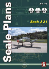 Omslag - Scale Plans 41: Saab J 21
