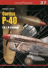 Omslag - Curtiss P-40, F,K,L,M,N Models