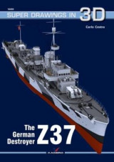 Omslag - The German Destroyer Z37