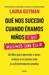 Omslag - Qua Nos Sucedia Cuando Aramos Niaos y Qua Hicimos Con Ello / What Happened to Us When We Were Children and What We Did with It: A Book for Learning to Love, Even If We Havenat Been Loved Enough