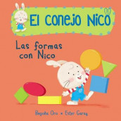 Formas. Las Formas Con Nico / Shapes with Nico. Book of Shapes av Begona Oro (Kartonert)