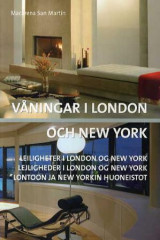 Omslag - Våningar i London och New York = Leiligheter i London og New York = Lejligheder i London og New York = Lontoon ja New Yorkin huoneistot