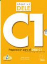 Omslag - Objetivo Dele C1: Student Book wityh CD : Preparation for the DELE exam