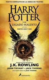 Harry Potter and the Cursed Child av J K Rowling, Jack Thorne og John Tiffany (Heftet)