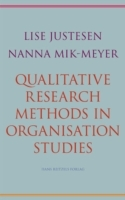 Omslag - Qualitative Research Methods in Organisation Studies