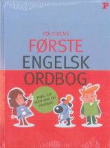 Omslag - Politikens First English Dictionary: English-Danish & Danish-English 2008