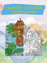 Omslag - Country Cottages Coloring Book