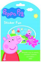 Omslag - Peppa Pig - sticker fun