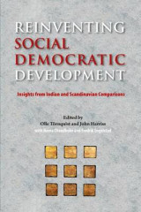 Omslag - Reinventing Social Democratic Development: Insights from Indian and Scandinavian Comparisons 2016