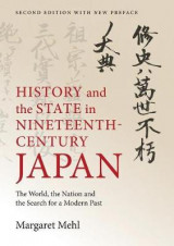 Omslag - History and the State in Nineteenth-Century Japan