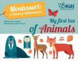 Omslag - My First Box of Animals: Montessori a World of Achievements