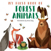 My First Book of Forest Animals av Anna Lang (Kartonert)