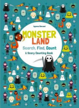 Omslag - Monsterland: Search, Find, Count: A Scary Counting Book