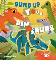 Build Up your Dinosaurs av Federica Magrin (Innbundet)