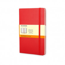 Moleskine Large Ruled Notebook Red (Notatblokk)