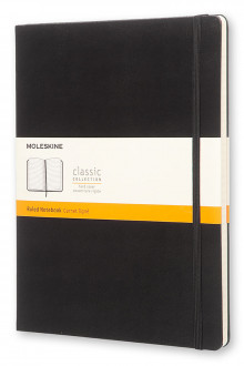 Moleskine Extra Large Ruled Notebook Hard Black av Moleskine (Notatblokk)
