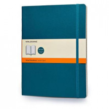 Moleskine Soft Extra Large Underwater Blue Ruled Notebook av Moleskine (Notatblokk)