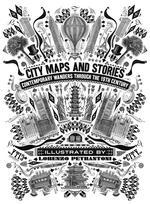 Omslag - City maps and stories 19th century