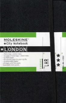 City notebook. London. Moleskine (Dagbok)