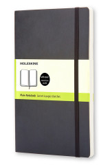 Omslag - Moleskine Soft Cover Pocket Plain Notebook Black