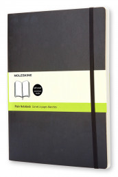 Omslag - Moleskine Soft Xlarge Plain Notebook