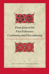 Omslag - From Jesus to His First Followers: Continuity and Discontinuity