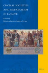 Omslag - Choral Societies and Nationalism in Europe