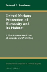 Omslag - United Nations Protection of Humanity and its Habitat