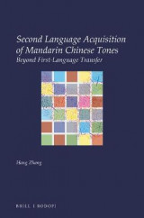 Omslag - Second Language Acquisition of Mandarin Chinese Tones
