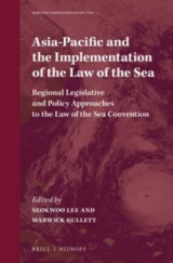 Omslag - Asia-Pacific and the Implementation of the Law of the Sea