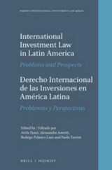 Omslag - International Investment Law in Latin America / Derecho Internacional de las Inversiones en America Latina