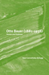 Omslag - Otto Bauer (1881-1938)