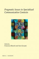Omslag - Pragmatic Issues in Specialized Communicative Contexts