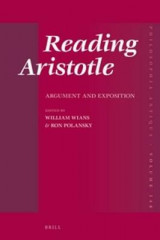 Omslag - Reading Aristotle