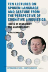 Omslag - Ten Lectures on Spoken Language and Gesture from the Perspective of Cognitive Linguistics