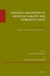 Omslag - Exegesis and Poetry in Medieval Karaite and Rabbanite Texts: Volume 9