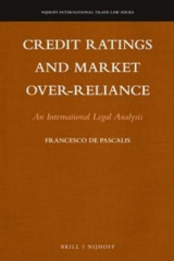Omslag - Credit Ratings and Market Over-reliance