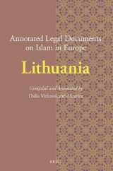 Omslag - Annotated Legal Documents on Islam in Europe: Lithuania