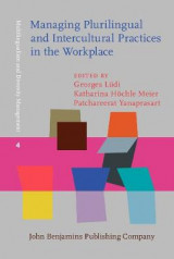 Omslag - Managing Plurilingual and Intercultural Practices in the Workplace