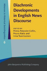 Omslag - Diachronic Developments in English News Discourse